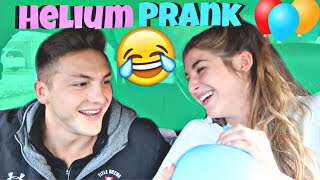 Helium Balloon Drive Through PRANK! *FUNNY*