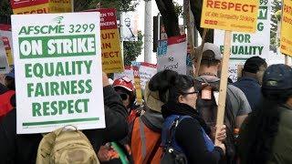 UC Nurses Strike