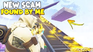 NEW SCAM FOUND BY MAGICAL GAMER! 😱 (Scammer Gets Scammed) Fortnite Save The World