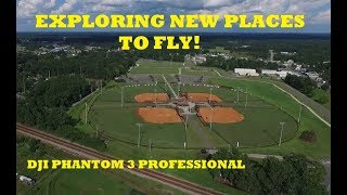 """PHANTOM 3 PRO """"EXPLORING NEW PLACES TO FLY!!!"""""""