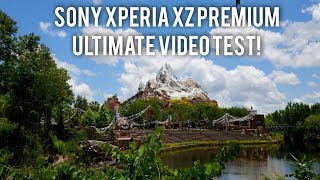 Sony XZ Premium ULTIMATE 4K Camera Video Test!