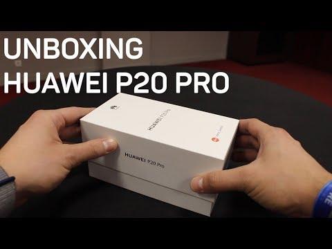 'Unboxing' del Huawei P20 Pro: Te lo mostramos todo