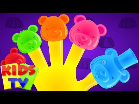 Jelly Bear Finger Family | Nursery rhymes for kids | Baby rhyme