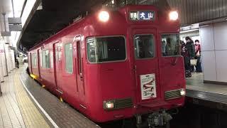 mqdefault - [名古屋行き最終列車系統板‼️]名鉄6000系初期車 6006f(普通犬山行き)名鉄名古屋駅 発車‼️