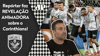 'Falei com gente de dentro do Corinthians': Repórter faz revelação animadora