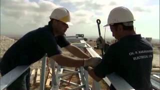 preview picture of video 'Alexigros Wind Farm, Tersephanou/Klavdhia/Alethriko, Cyprus'