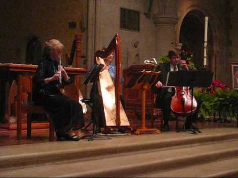 Joe Cooley's Reel - Adagio Trio - harp, flute, cello