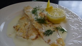 All About Sauces Series _ how to make classic French style fish with Lemon Beurré Blanc sauce