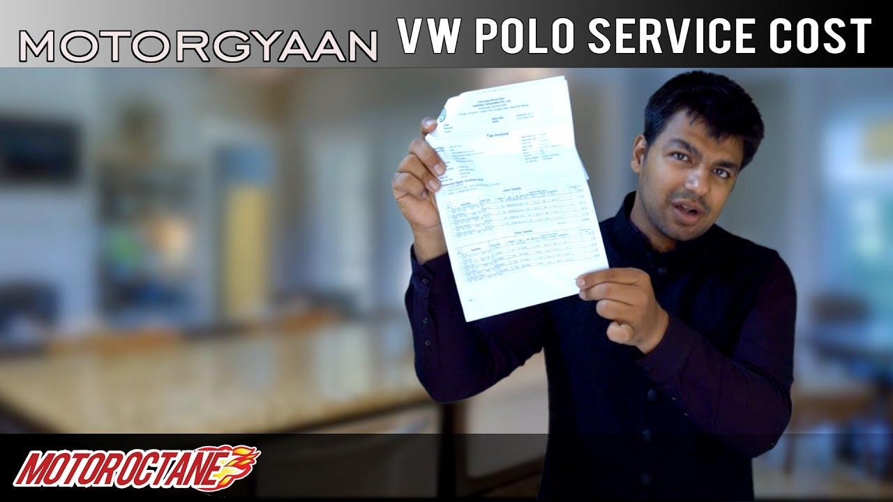 Motoroctane Youtube Video - Can't Miss! 1st Paid VW Polo Service COST | HIndi | MotorOctane