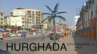 Hurghada City & Resorts Walk , Egypt HD