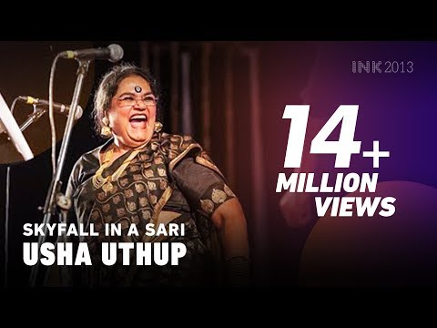 Download Usha Uthup: Skyfall in a sari HD Mp4 3GP Video and MP3
