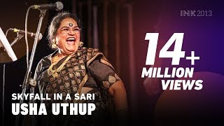 Usha Uthup: Skyfall in a sari - YouTube