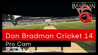 "Don Bradman Cricket 14 - Pro Cam ""Sneak Peek"""