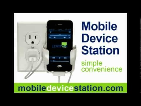 Decorate with Mobile Device Station