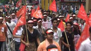 Party Procession in Kolkata