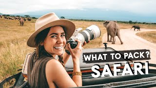 SAFARI PACKING GUIDE | What to pack for an East African Safari!