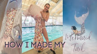My Life As A Pro Mermaid: Making My Own Silicone Mermaid Tail!