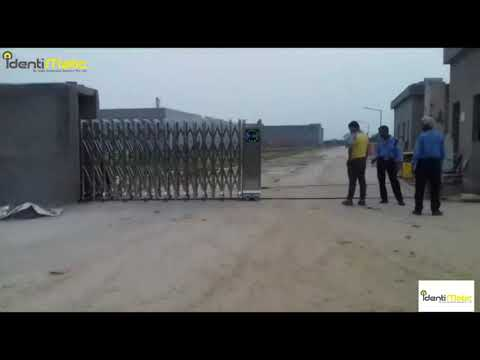 Retractable Sliding Gate