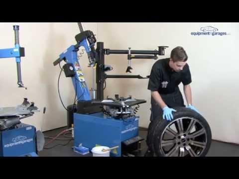 Leverless Tyre Changer