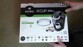 Keurig K40 Elite K-Cup Coffee Maker Unboxing