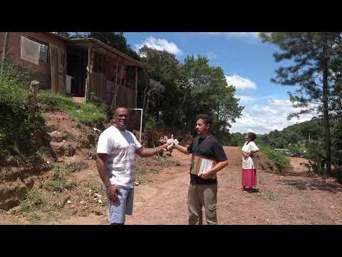 Marcio Fiscal Ambiental de Juquitiba aplica multas salgadas no responsável pela Terraplenagem na travessa do Sossego na Favela do Justinos