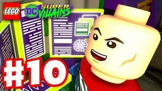 LEGO DC Super Villains - Gameplay Walkthrough Part 10 - Lex Luthor's Evil Plan!