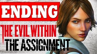The Evil Within The Assignment ENDING Final BOSS All Endings Walkthrough PS4 XBOX PC [HD]