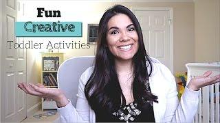 6 Indoor Toddler Activities!