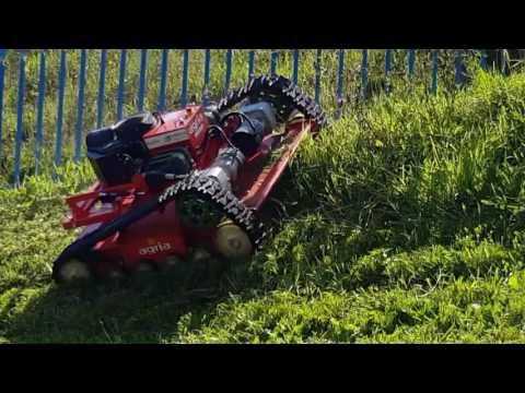 Robot segador EMULSA Gijón