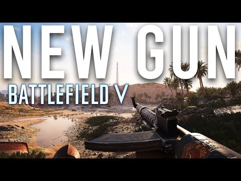 Battlefield V New MMG you can hipfire?