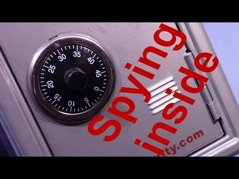 (picking 371) Fun – Spying inside a safe box to get it decoded – set by 'West Coast Picks' – thanks