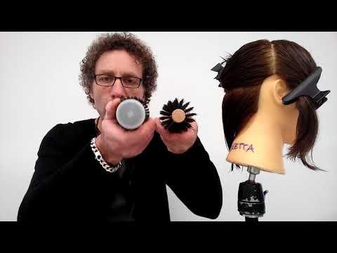Dermatite di atopic della testa di una fotografia