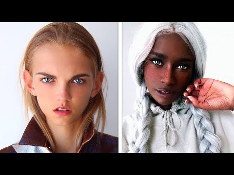 10 UNUSUAL PEOPLE WITH UNIQUE FEATURES. BEAUTIFUL PEOPLE