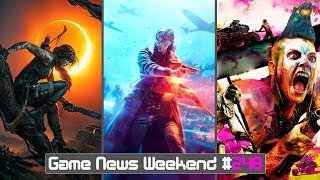 Игровые Новости — Battlefield 5, Dying Light 2, Death Stranding, Shadow of the Tomb Raider, RAGE 2