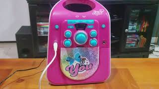 Otakus & Geeks Holiday Gift Guide 2017: JoJo Siwa CD&G Karaoke Bluetooth Karaoke Machine Review