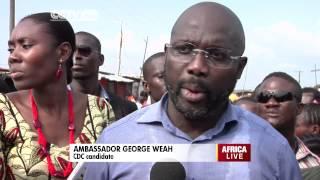George Weah on Liberia
