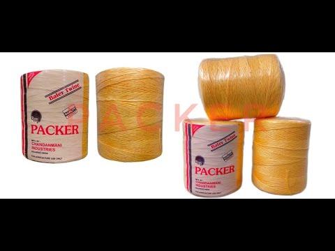 Packer Polypropylene Yellow PP Baler Twine