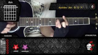 Como tocar Que ves de divididos en guitarra