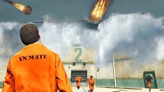 GTA 5 - ESCAPE the PRISON before the WORLD ENDS!