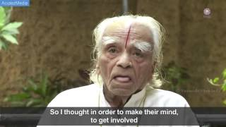 One of the final interviews with BKS Iyengar