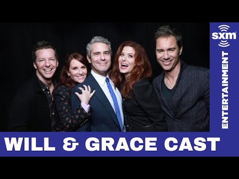 Will & Grace cast credits Trump for their return // Radio Andy // SiriusXM