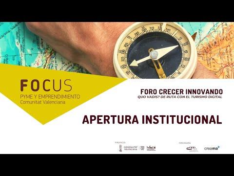 Apertura Institucional Foro Crecer Innovando Creama[;;;][;;;]