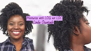 preview picture of video 'LOG METHOD TO MOISTURIZE AND TWIST OUT ON 4B/4C NIGERIAN NATURAL HAIR'