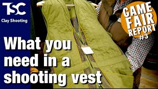 What to look for in a shooting vest