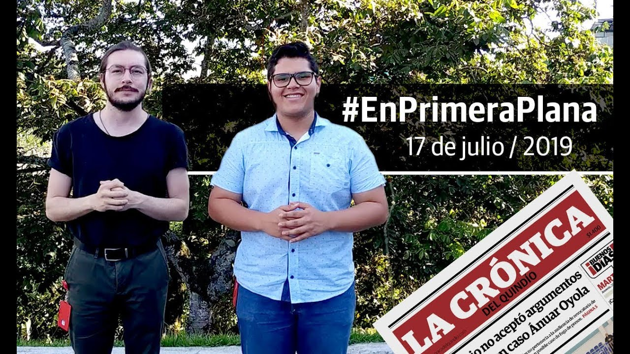 En Primera Plana: lo que será noticia este jueves 17 de julio