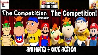 SML Movie: The Competition! Animated + Live Action