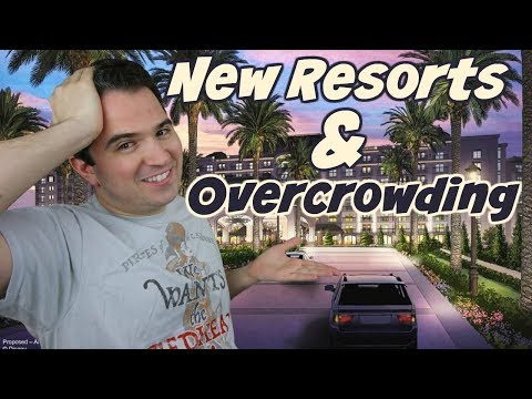 Disney World is crowded! Why build new resorts? 🏩