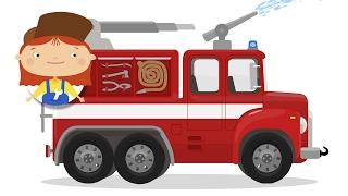 Пожарная машина 🚒 сломалась! 🚗🚑 Доктор Машинкова и Развивающие мультики с машинками #КапукиКануки