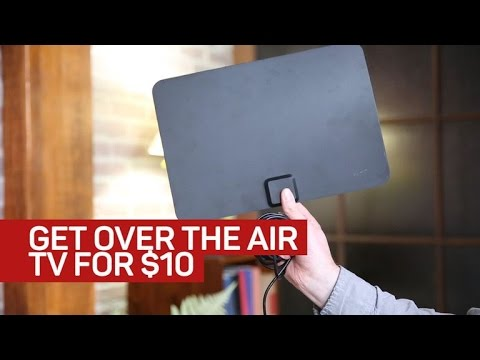 How to Cut Cable Cord with Indoor HDTV Antenna