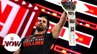Seth Rollins is continent-hopping as Intercontinental Champion: WWE Now